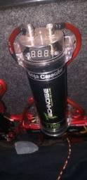 Capacitor 2 farad zero