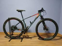 Bike Sense Impact Carbom 2020 com 30km rodado
