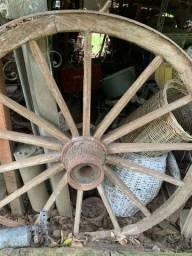 Lote rodas carroça