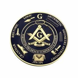 Emblema maçônico para autos, caminhões, motos,etc