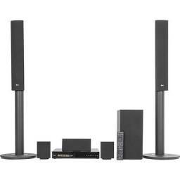 Home Theater Lg LHB645 Blu-Ray 3D Bluetooth 5.1 Canais 1000W