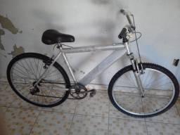 Bicicleta caloi de aluminio aceito catão