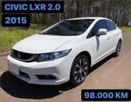 CIVIC 2015 LXR 2.0 FLEX AUTOMÁTICO ÚNICO DONO (aceito trocas)