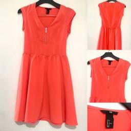 H&M - importado Vestido laranja 38/40