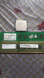 Kit memórias e processador