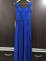 Vestido de Festa | Madrinha | Azul Royal