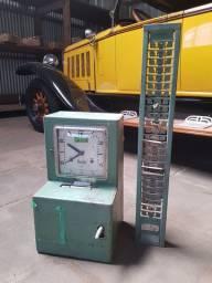 Relógio ponto Rod-Bel antigo