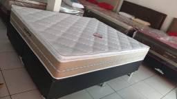 ::Conjunto Cama Box Prorelax Bali Queen (158x198) Molas Ensacadas ::
