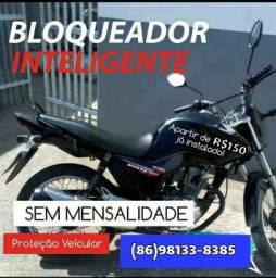 Novidade: Anti furto bloqueador resgate de moto roubada! instalado! Só R$110,00