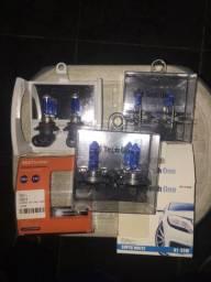 Vendo 3 pares de lâmpada super Branca Tech One