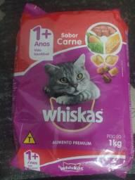 Ração Whiskas Sabor Carne 1kg