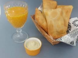 Salgados congelados/paes de queijo etc. com preço de fábrica