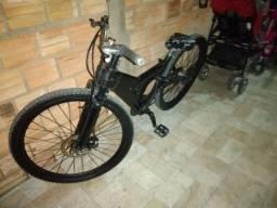 Bike de trilha rebaixado