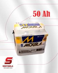 Bateria Moura 50 Amperes - 24 meses de garantia;
