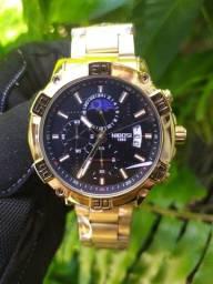 Título do anúncio: Relógio Masculino NiBOSi Dourado