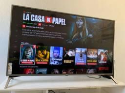 "SMART TV LG ULTRA HD 49"" 4K LED CONTROLE COMANDO DE VOZ entrego"