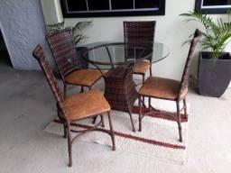 Mesa rio, com 04 Cadeiras!!!