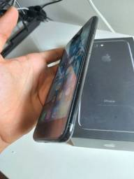 Título do anúncio: Iphone 7 plus 32gb Jet Black