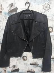 jaqueta jeans resignado marca Rabush forrada tam 42 30,00