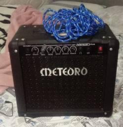 guitarra + amp e cabo