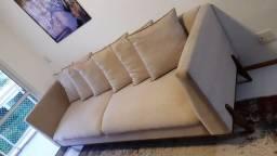 Belíssimo sofá de 6 lugares novíssimo