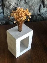 Vaso decorativo Travertino Romano 12cmx9cm