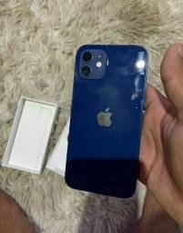 Iphone 12 de 128gb Super Novo na Garantia Aceito Cartão Tenho a Nota