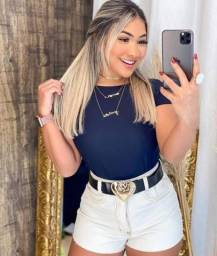 Título do anúncio: short jeans cintura alta feminino