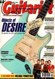 Revista Guitarist + CD com Backing Tracks (Setembro de 1997)