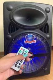 Caixa de Som Super Bass 2000w de Potência Bluetooth
