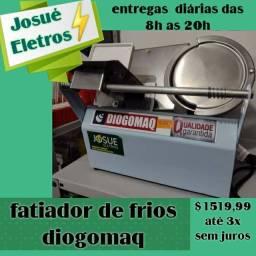 Título do anúncio: Fatiador de frios DIOGOMAQ_varejo e atacado entrega a domicílio Jp e regiões