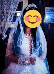 Vestido de noiva / Vestido de dama de honra 06 anos.