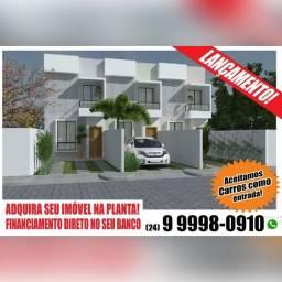 Título do anúncio: Duas casas não geminada, 3 Duplex e terreno reserva do valle. Aceito carro como entrada.