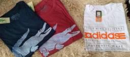 Camisas e bermudas extra grande valores abaixo