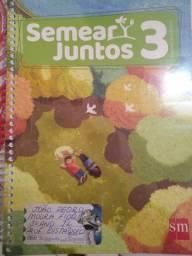 Livros 3 ano colégio Santa Maria