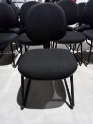 Cadeira Fixa para recepção, igrejas, escritório, espera, etc