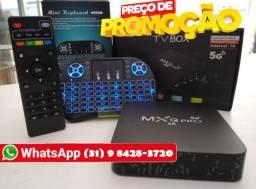 TV Box 128 GB Promoção