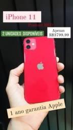 iPhone 11 lacrado novo 1 ano garantia