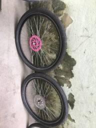 Par de rodas aero