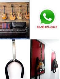 Suporte Violão, Guitarra e Baixo - Suporte de Parede