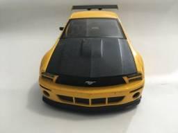 Miniatura Ford Mustang Gt-R Concept Amarelo Jada Toys 1/24