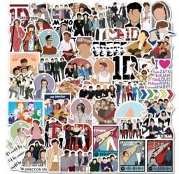 Título do anúncio: 22 Adesivos do One Direction - Sortido // vinil impermeável