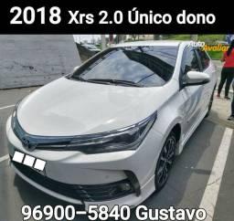 Corolla 2018 Xrs 2.0 Oportunidade Única dona
