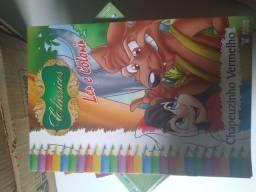 Livros infantis a partir de R$1,00 real.