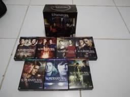 Título do anúncio: Box DVD Supernatural