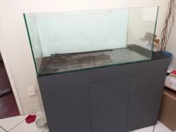 Aquario 270 litros com móvel