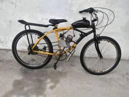 Bike motorizada 2015( vendo ou troco por algo do meu interesse)
