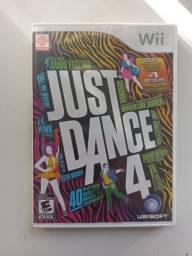 Jogo Just Dance 4 - Nintendo Wii - Mídia Física