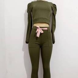 Conjuntos e calça legging 3 D
