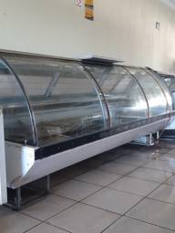 Açougue e mercado parte de refrigeração Completo
